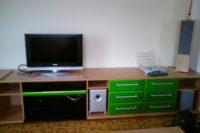 Lakování nábytku zelená